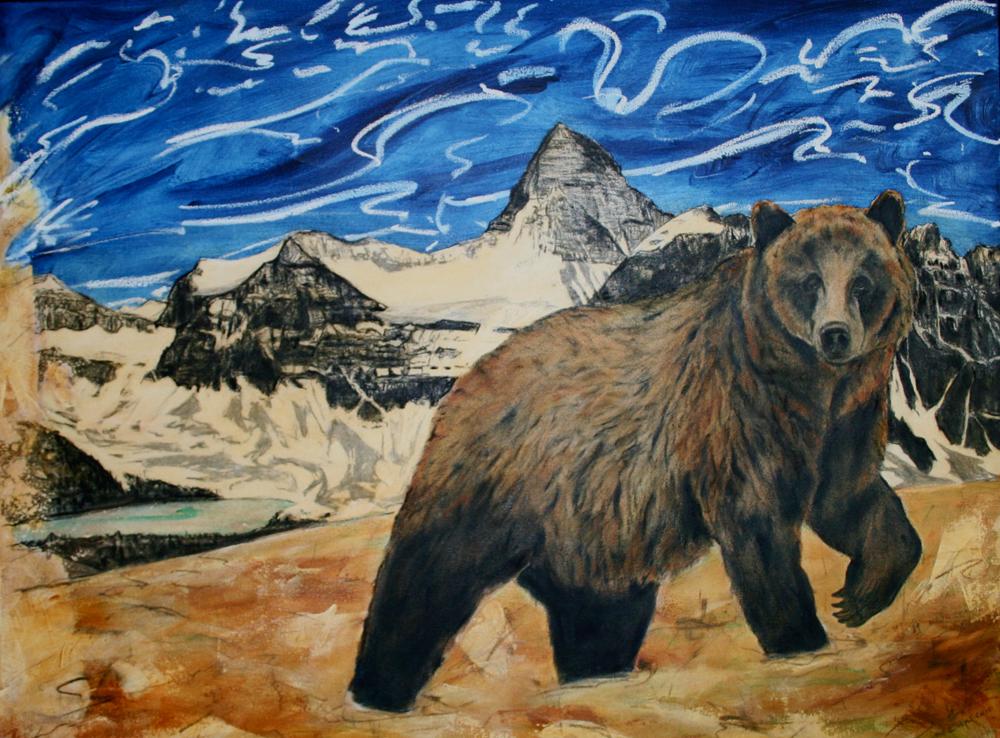 The Nublet, Mount Assiniboine, 2010