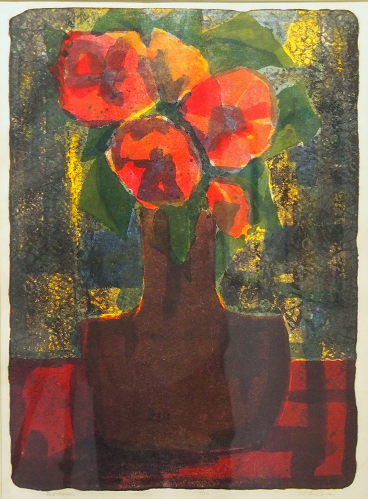 Red Flowers, 1965